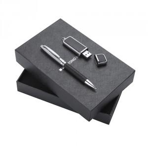Set bolígrafo y usb personalizado - MyM Regalos Promocionales