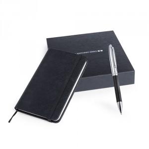 Set de libreta y bolígrafo Rodum - MyM Regalos Promocionales