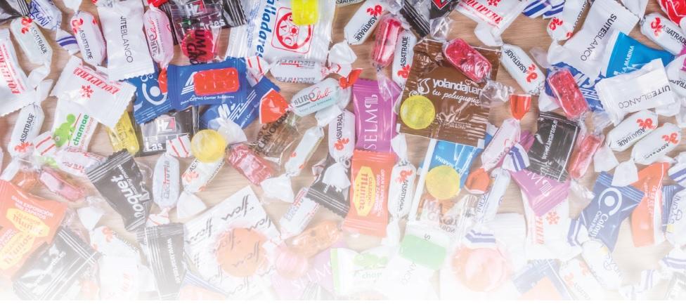 Caramelos personalizados foto - MyM Regalos Promocionales