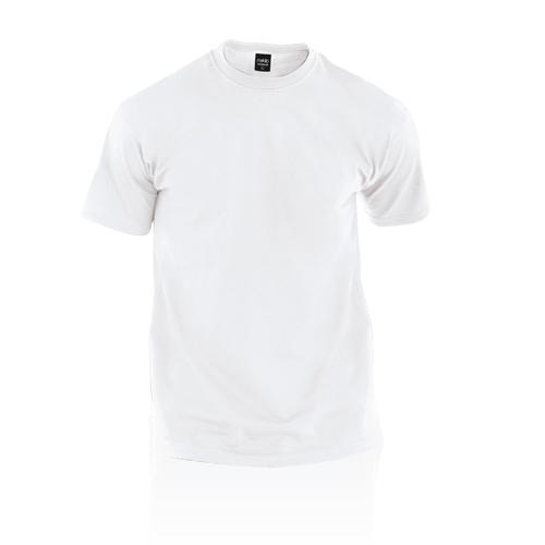 Camiseta adulto blanca Premium - MyM Regalos Promocionales
