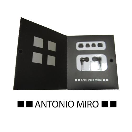 Auriculares personalizados Rolder Antonio Miró - MyM Regalos Promocionales