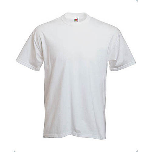 Camisetas personalizadas blanca Heavy T - MyM Regalos Promocionales